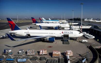 Usa, aerei a terra in tutto il paese per black-out software