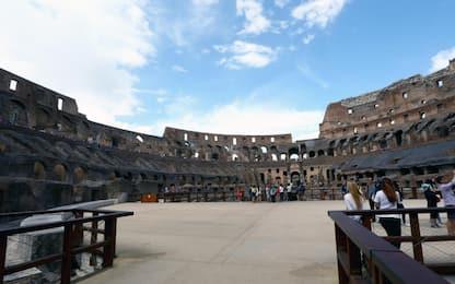 Roma, entrano di notte nel parco archeologico del Colosseo: denunciati