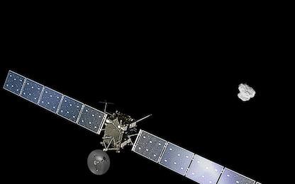 """La sonda Rosetta e il comportamento della cometa """"camaleonte"""""""