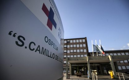 Roma, devasta pronto soccorso ospedale San Camillo: arrestato 44enne