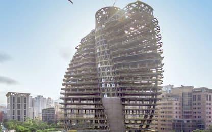 Grattacielo ecosostenibile Taiwan