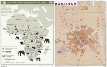 Dal D-day alla guerra in Iraq: le mappe della CIA sbarcano su Flickr