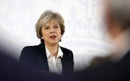 """Londra, May condanna l'attacco: """"Atto disgustoso e odioso"""""""