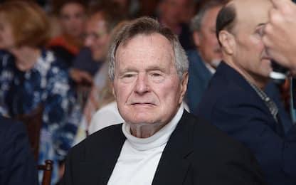 George Bush Senior ricoverato in terapia intensiva per un'infezione