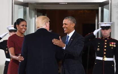 """Usa, Trump attacca Michelle Obama: """"Torna a sederti e guarda"""""""