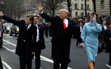 Getty_Images_Famiglia_Trump