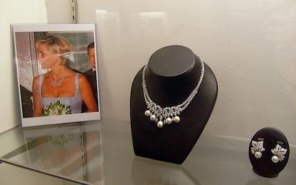 All'asta la celebre collana di Lady Diana. E' stimata 11 mln di euro