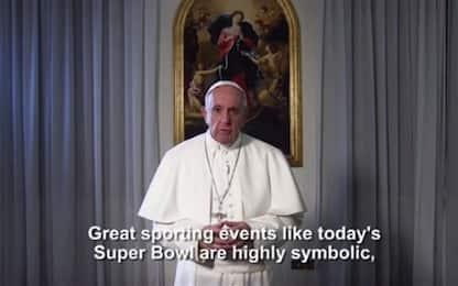 """Super Bowl, messaggio del Papa: """"Pace e solidarietà per il mondo"""""""