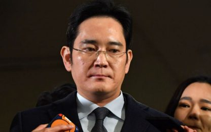 Samsung, chiesto nuovo arresto per il vice presidente Lee Jae-yong