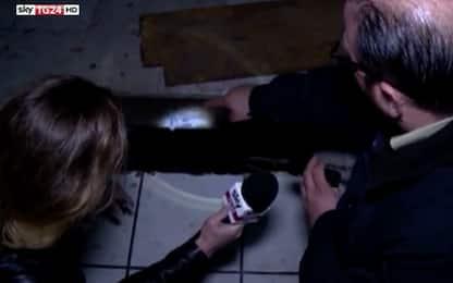 Le telecamere di Sky TG24 a Tijuana tra i tunnel della droga