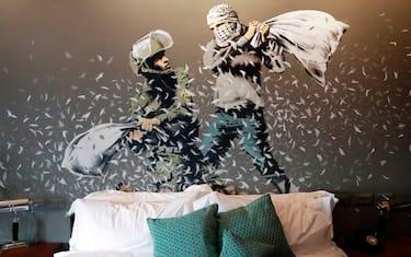 GettyImages-Banksy-hotel-Betlemme