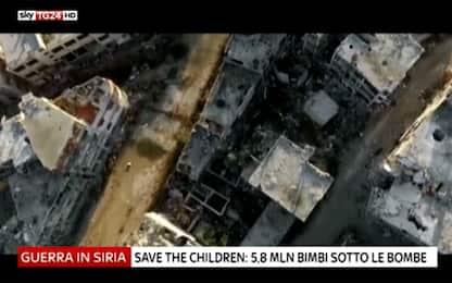 """Siria, Save the Children: """"Problemi mentali per 1 bambino su 4"""""""