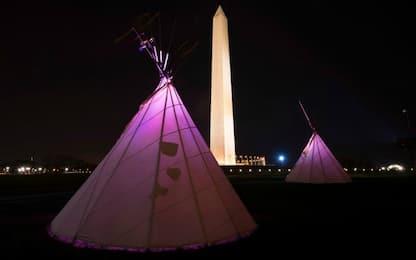 Manifestazioni Sioux a Washington