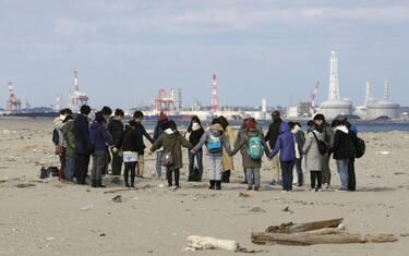 01_sesto_anniversario_tsunami_giappone_sendai_ansa