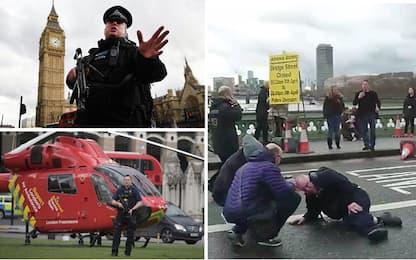 Londra, attacco davanti Parlamento: 3 vittime, morto anche attentatore