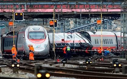 Eurocity deragliato a Lucerna, traffico resta interrotto