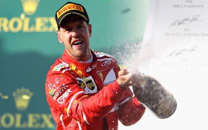 F1, nel GP in Australia vince la Ferrari di Sebastian Vettel