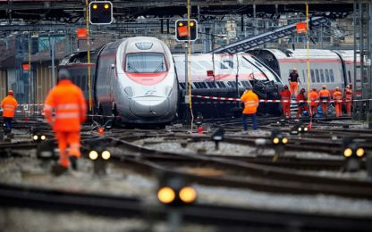 Svizzera, ripreso il traffico a Lucerna dopo l'incidente ferroviario