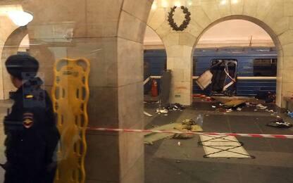 San Pietroburgo, un anno fa l'attentato nella metropolitana