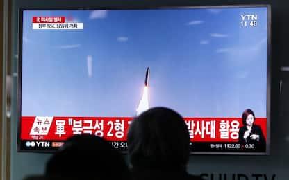 """Nord Corea, lanciato un altro missile. Tokyo: """"Viola risoluzioni Onu"""""""