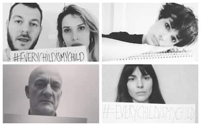 #everychildismychild, l'appello di artisti e sportivi per la Siria