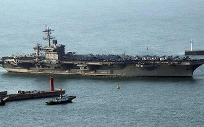 Usa, Pentagono: portaerei americana verso la Corea del Nord