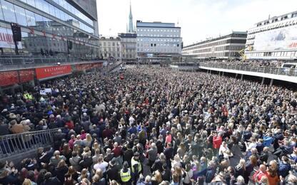 Svezia, manifestazione contro terrorismo