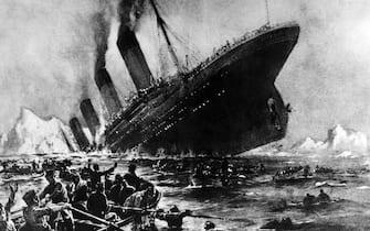 Foto storica affondamento Titanic