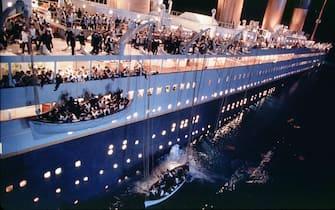 Foto tratta da una scena del film Titanic