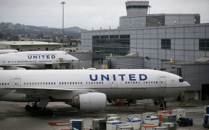 Scorpione punge passeggero, ancora guai per la United Airlines<br>