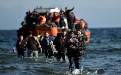 Migranti, naufragio davanti a Lesbo: almeno 15 vittime
