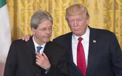 """Trump: """"L'Italia pagherà di più per la Nato"""""""