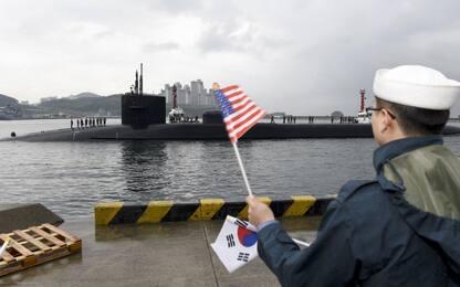 Corea del Nord, Trump invia un sottomarino nucleare