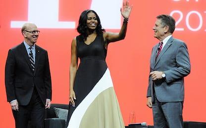 Michelle Obama alla sua prima