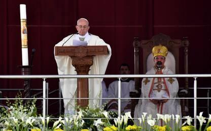 Egitto, messa del Papa allo stadio