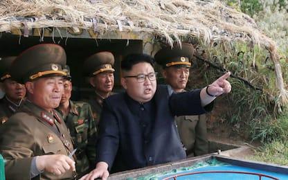 Corea del Nord, 4 missili Hwasong-12 per attacco a Guam