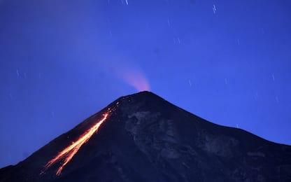 Guatemala, allerta per l'eruzione del Vulcano de Fuego. FOTO