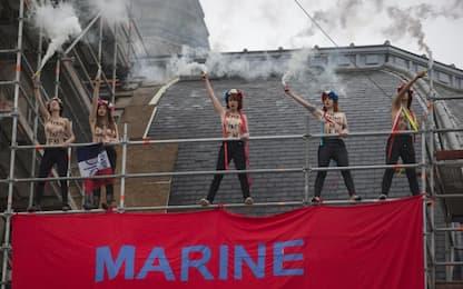 Francia, Femen contro Marine Le Pen