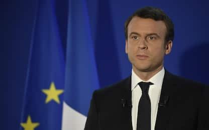 """Il discorso di Macron presidente: """"Difenderò la Francia e l'Europa"""""""