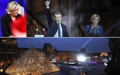 """Parigi, Macron eletto nuovo presidente: """"Difenderò Francia ed Europa"""""""