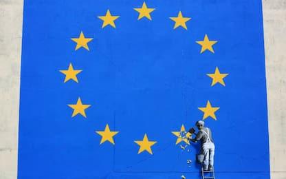 Brexit secondo Banksy