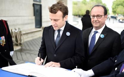 Primo impegno istituzionale per Macron
