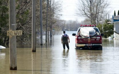 Inondazioni in Canada, Montreal dichiara lo stato di emergenza