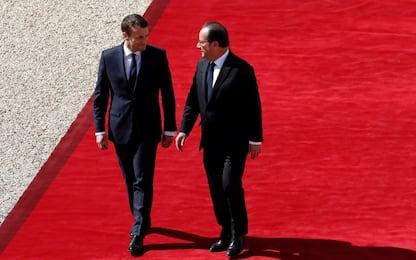 Francia, passaggio Macron Hollande