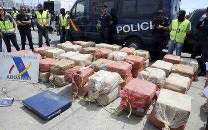 Spagna, sequestro record cocaina