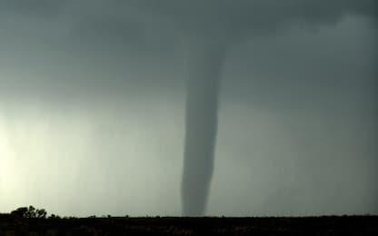 Usa, tornado in Texas