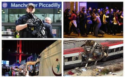 Madrid, Londra, Parigi e Manchester: gli attacchi jihadisti in Europa