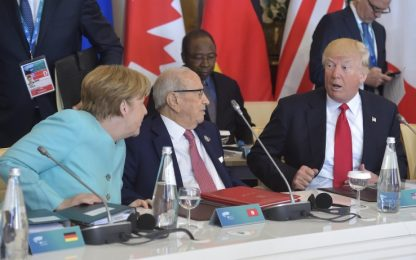 G7 in salita: sul clima gli altri paesi lasceranno più tempo agli Usa
