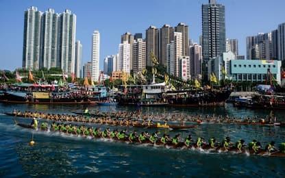 Dragon Boat Race di Hong Kong