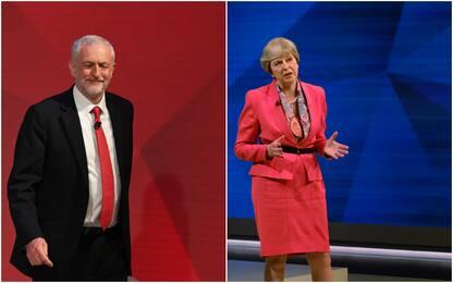 Gb: confronto tv a distanza tra May e Corbyn. È scontro sulla Brexit